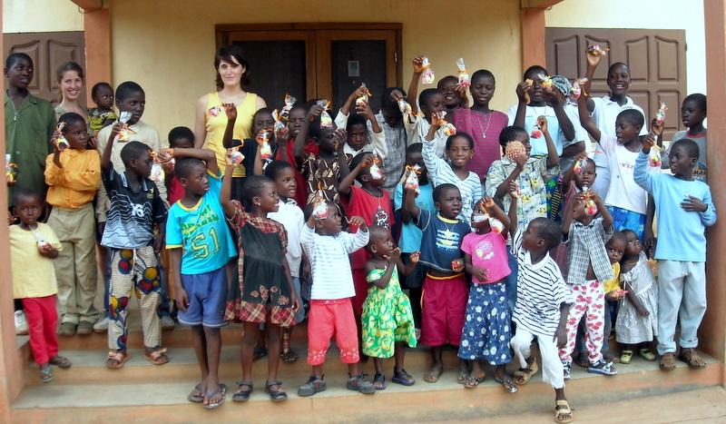 I bambini dell'orfanotrofio di Dagletà (Benin, 2009)