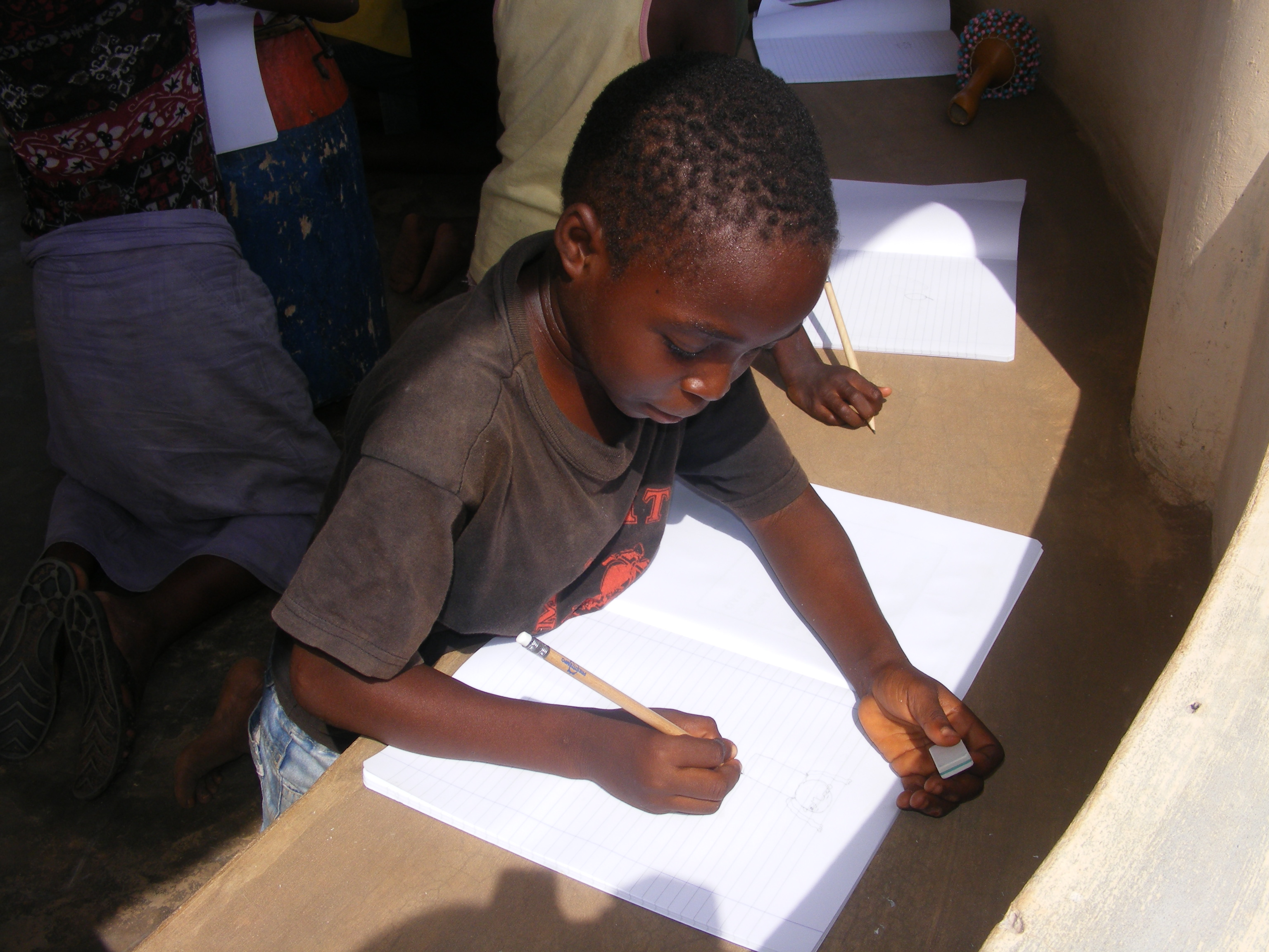 I bambini nell'orfanotrofio di Dagletà (Benin, Febbraio 2014)