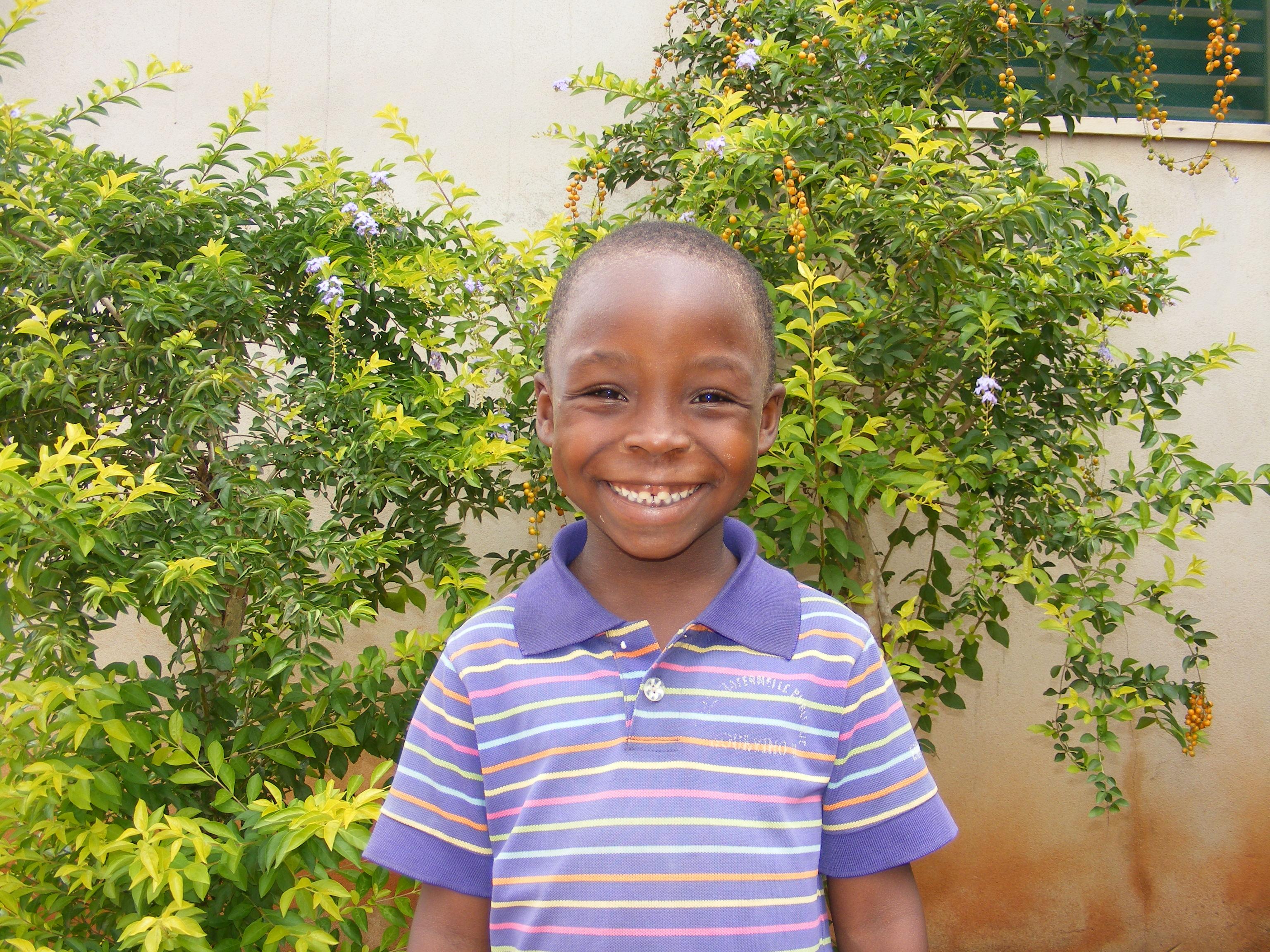 Un bambino sostenuto con le adozioni a distanza (Dagletà, Benin, 2014)
