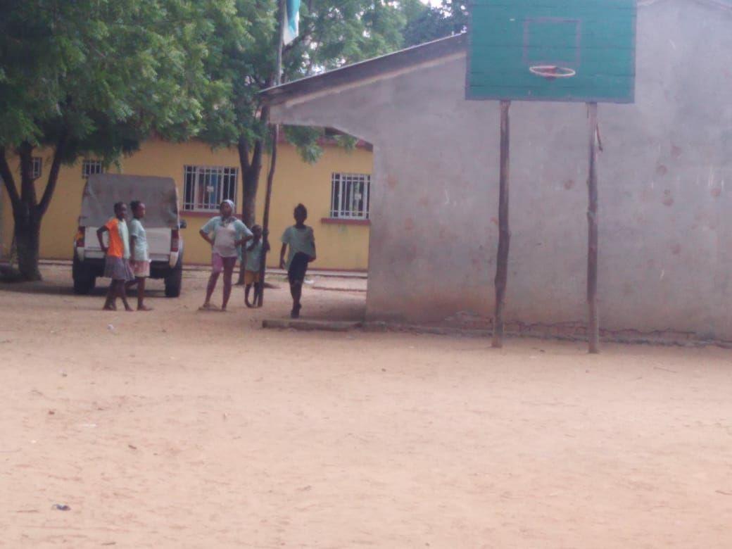 Il campo di basket