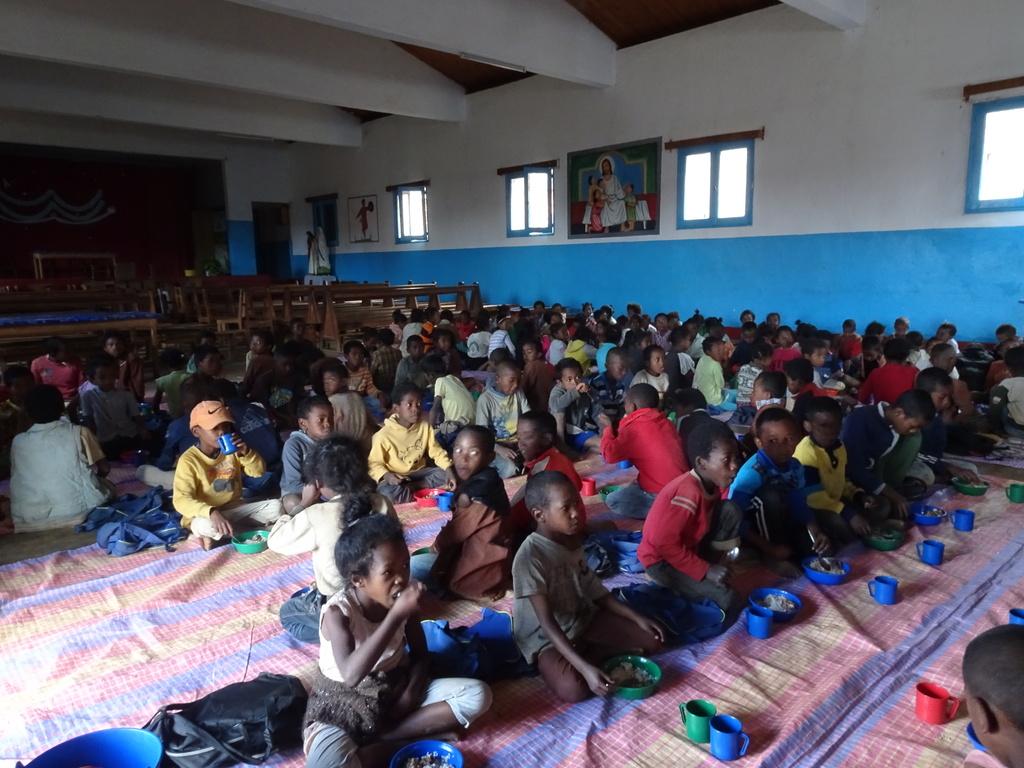 La mensa della scuola pubblica di Imady (Madagascar, Maggio 2018)