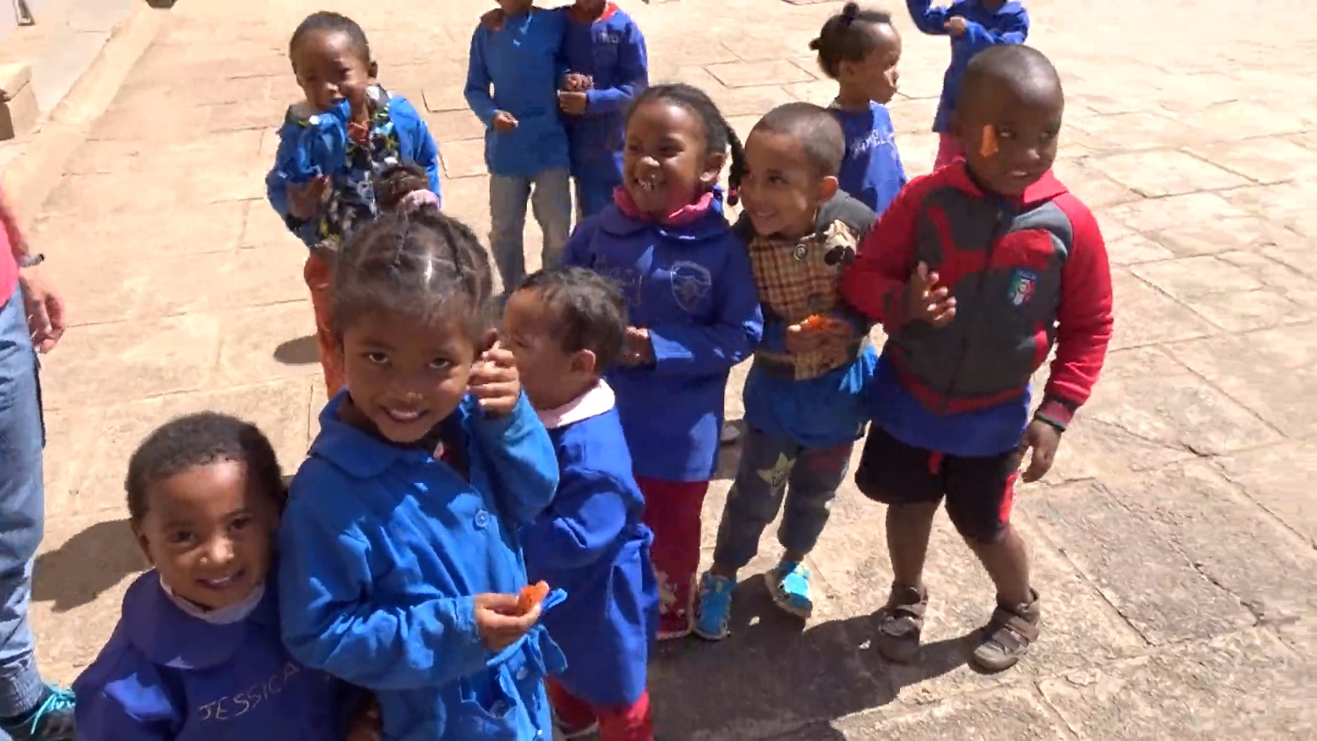 Bambini della scuola materna di Antananarivo