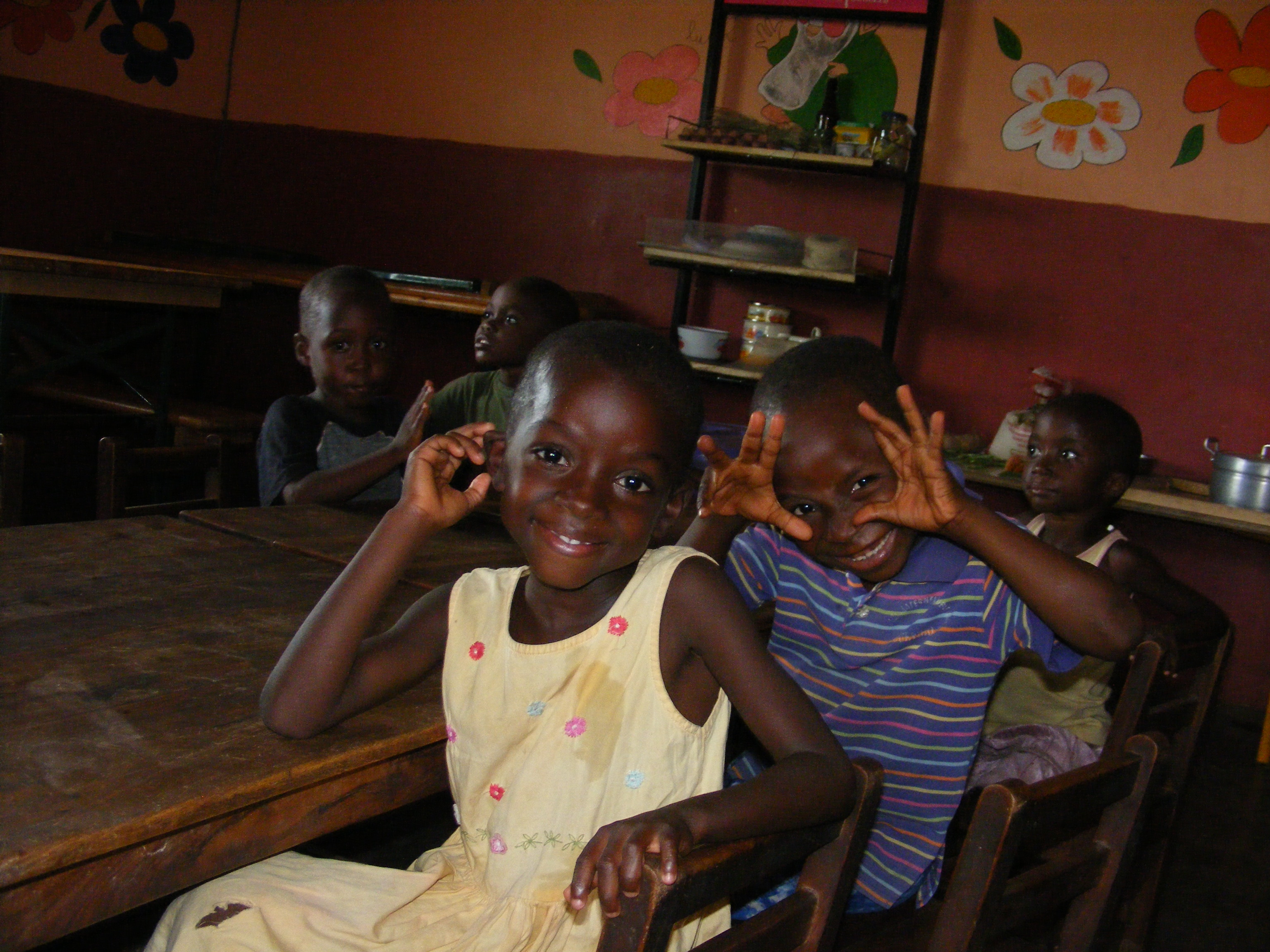 I bambini dell'orfanotrofio di Dagletà (Benin, Febbraio 2014)