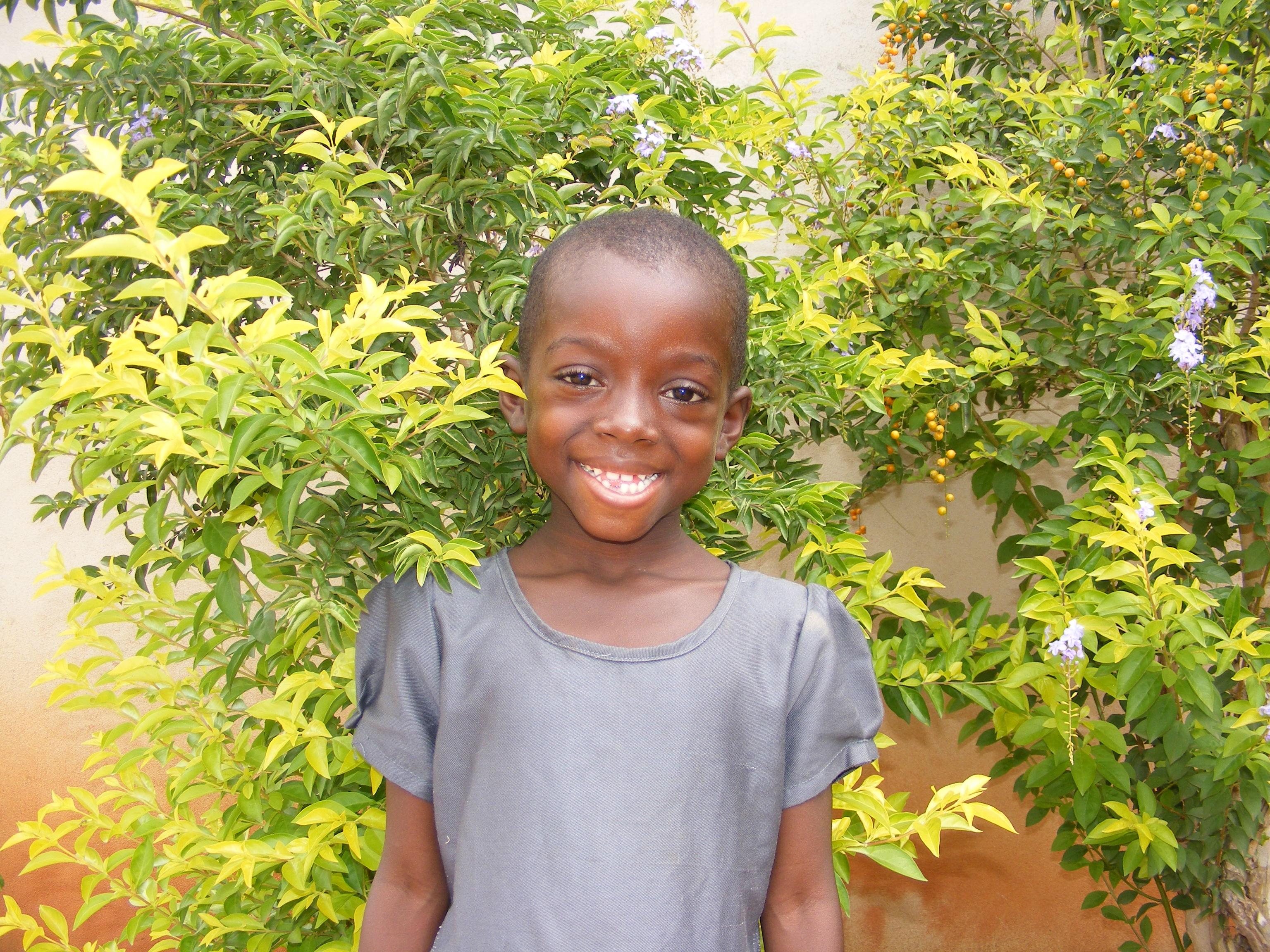 Una bambina sostenuta con le adozioni a distanza (Dagletà, Benin, 2014)