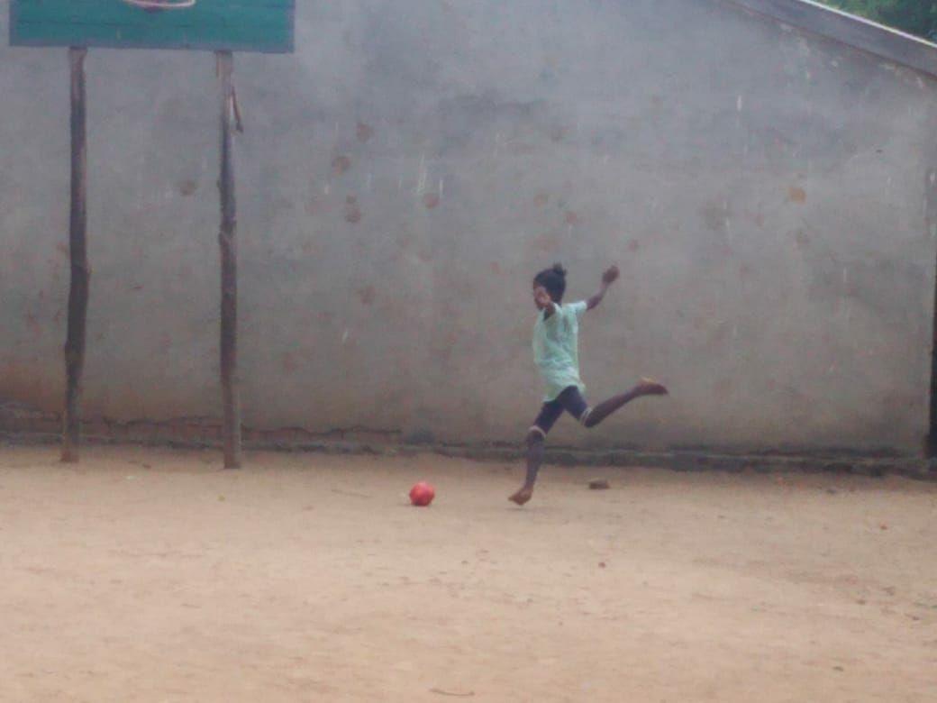 Il campo da calcio (e da basket)