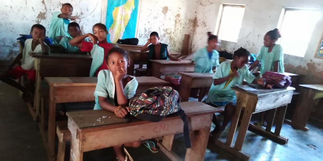 I bambini in classe